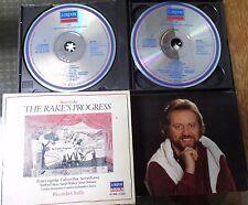 Stravinsky The Rake's Progress Chailly Decca Germany rare 1984 import press 2CD