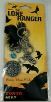 Disney The Lone Ranger Movie Backpack Clip-On Bag Keychain Tonto's Charm New