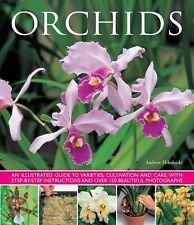 Orchids : An Illustrated Guide to Varieties, Cultivation and Care by Andrew...