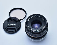 Canon FD 35mm f/3.5 S.C. Wide Angle Lens Prime Caps & Filter (3029)