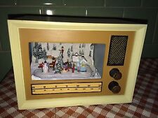Mr Christmas Style Retro Radio 1930's Mutli-Action/Lights Music Box