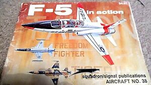 SQUADRON/SIGNAL #38 / F-5 IN ACTION (1980) #1038