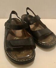 Ladies KUMFS pusole leather comfortable sandals size 37