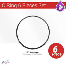 """6Pcs Standard 10"""" Housings O Ring for Max Water Reverse Osmosis Systems."""