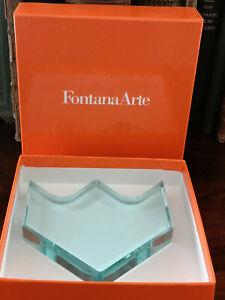 Fontana Arte -art glass paperweight box design Chiesa Ingrand made italy design