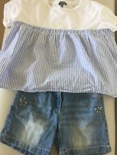 Girls Miss Grant Top And Next Shorts, Age 6