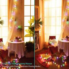 Music LED Fairy Lights with Sound Twinkling Multi Color Changing String Lights