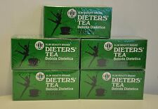 5 BOXES OF Dieters' Tea Bebida Dietetica Slim Beauty Brand Dieters 90 Tea Bags