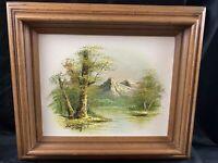 Vintage Original  Oil on Canvas Artist Signed Painting Framed