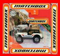 MATCHBOX 2020   JEEP 4x4   80/100   NEU&OVP