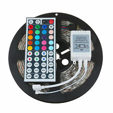 5M 10M 15M 20M SMD 5050 RGB LED Strip Light +44Key IR Remote Controler Kit IP65