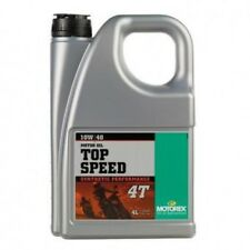 Motorex Top Speed 4T 10W40 10W 40 synthetic performance engine oil motorcycle 4L