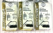 Electrolux Renaissance Multi Filter SelfSealing 17 Vacuum Bags Style R Cannister