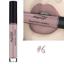 1X #6 Color Women Waterproof Matte Lip Gloss Long Lasting Liquid Lipstick Makeup
