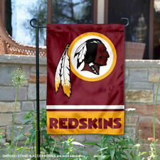 WASHINGTON REDSKINS House Banner Flag PREMIUM Outdoor DOUBLE SIDED Embroidered