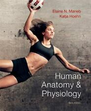"""VERY GOOD COND"" HUMAN ANATOMY & PHYSIOLOGY 9TH US EDITION (2012) Marieb"