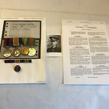 Distinguished Conduct WW1 Medal Group 1/4 Royal Berkshire Reg Territorial Army