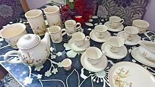 M&S Harvest  Pottery 27 pieces, plates,mugs,cups,saucers,teapot,gravy boat,sugar