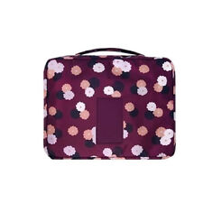 Multifunction Makeup Case Women Travel Cosmetic Pouch Toiletry Organizer Bag DS