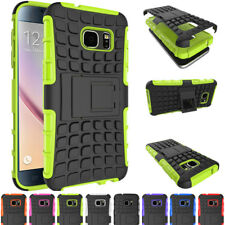 Shockproof Hybrid Rugged Armor With Stand Case Cover For Samsung Galaxy S8 /Plus