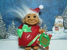 "Merry Little Christmas Santa Troll - 5"" Russ Troll Doll - New In Original Bag"
