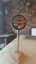 Miller Genuine Draft Harley-Davidson Beer Tap Handle