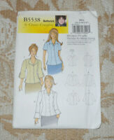 Butterick B5538 Customizable Blouse MISS Variations, XS-XL UNCUT CONNIE CRAWFORD