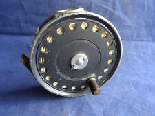 """A GOOD VINTAGE HARDY ST GEORGE 3 3/4"""" LIGHT SALMON/SEA TROUT FLY REEL"""