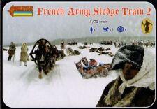 Strelets 1/72 French Army Sledge Train 2 # 134