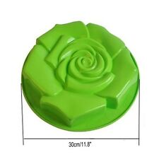 Extra Large 3D Rose Silicone Cake Mould Chocolate Pudding Mold DIY Baking Tool