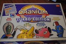 2004 Cranium Turbo Edition Board Game 1000 Cards Act Hum Puzzles Sketch Fun Fact