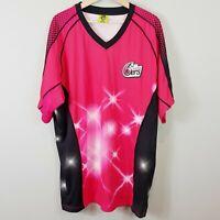SYDNEY SIXERS Kooga Mens Size 2XL Cricket Jersey / Shirt