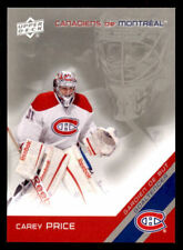 2011-12 McDonald's Upper Deck Canadiens #5 Carey Price (ref 26798)