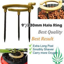 Hydroponics Hydo Halo Water Ring 9-Inch Shower Irragation Dia 9inch 13mm Input