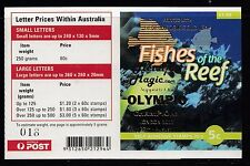 Australia 2010 Fishes of the Reef Gen Booklet ($1.00) O/PT - B455a(21)