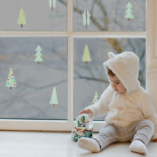 Christmas tree stickaround window stickers | Christmas window stickers