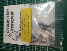 ACCURATE ARMOUR FS01/R - LATE WAR GERMAN AFV RECCE CREW - 1/35 WHITE METAL KIT