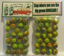 2 Bags Of Sinclair Gasoline Promo Marbles
