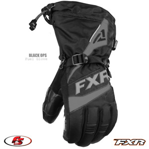 New 2021 FXR FUEL Men's Snowmobile Glove Black Ops M 2XL 3XL Motorcycle