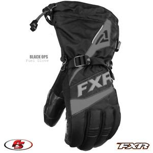 New 2021 FXR FUEL Men's Snowmobile Glove Black Ops M 2XL 3XL Motorcycle