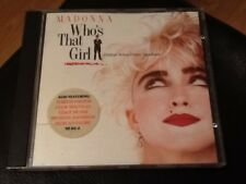 Madonna - Who's That Girl (1987 CD Original Soundtrack) original issue with book