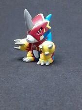 2000 Digimon Digital Monsters Finger Puppet Flamedramon Mini Figure H-T Bandai