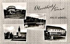Ansichtskarten ab 1945 aus dem Saarland