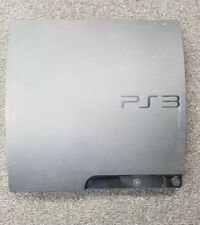 Sony PS3 Slim Console Only Black CECH-3001A for Parts/Repair