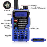 1x Baofeng UV-5R Plus Qualette Dual band 2m/70cm VHF UHF Two-way Ham Radio US