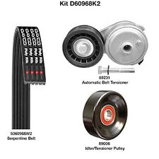 Dayco D60968K2 Serpentine Belt Drive Component Kit