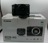 Kamera Canon EOS M3 Mirrorless Digital + Ziel 15-45 Is Stm + SD 16gb