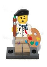 Genuine Lego 8804 Series 4 Minifigure no. 14 Artist