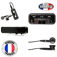 Oreillette Bluetooth Sans Fil Stéréo Double Ecouteur A2DP Coloris Noir