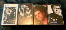 Peter Gabriel cassette tapes excellent condition